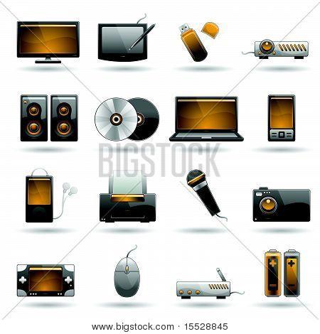 Elektronische Symbolsatz