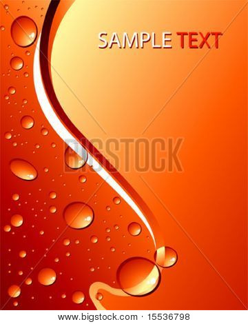 vector droplets background