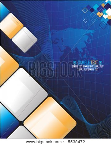 cube futuristic design