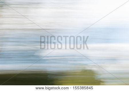 Blurred Abstract Background. Headland And Sky.