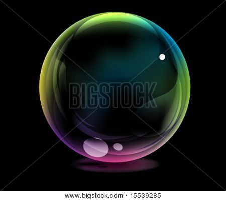 bola brillante Eps10