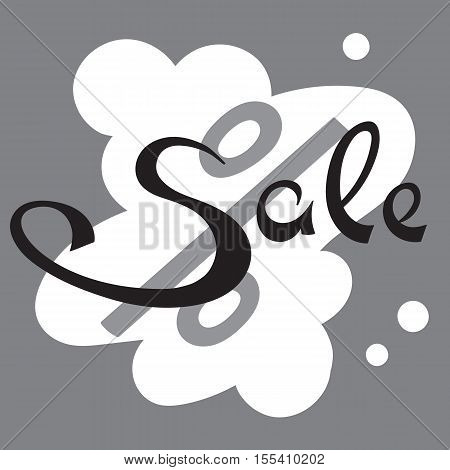 Sale banner. Big Sale tag. Sale sign. Web sticker. Sale sticker. Advertisement sticker. Big sale sticker. Simple sticker. Vector illustration.