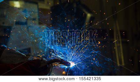 welding argon welding splatter repairman lifestyles light weld