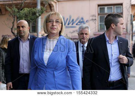 Presidential Candidate Tsetska Tsacheva