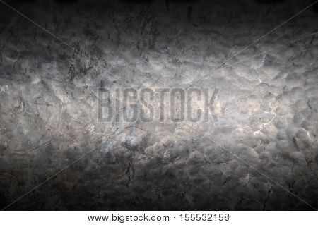 Metal background, texture of titanium, sheet of metal surface