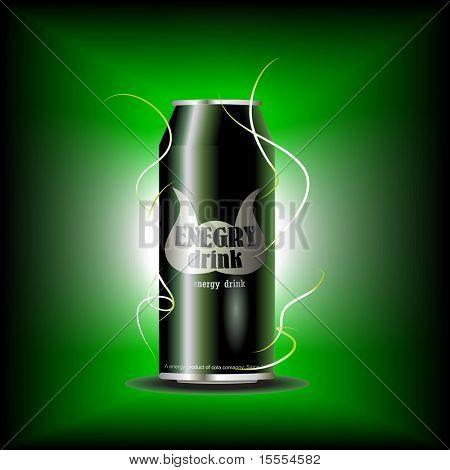 vector kan van energiedrank