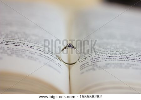 A engagement ring in the bible. A engagement ring in the bible