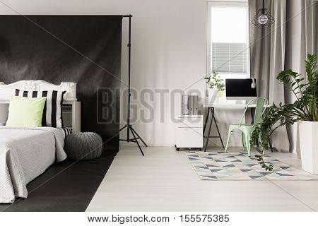Borders  Of Areas In A Studio Apartment