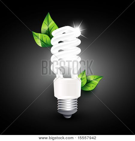 vector cfl design illustration