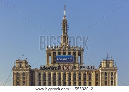 House Of The Free Press, Bucharest, Romania