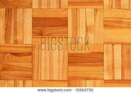 piece of wooden golden parquet