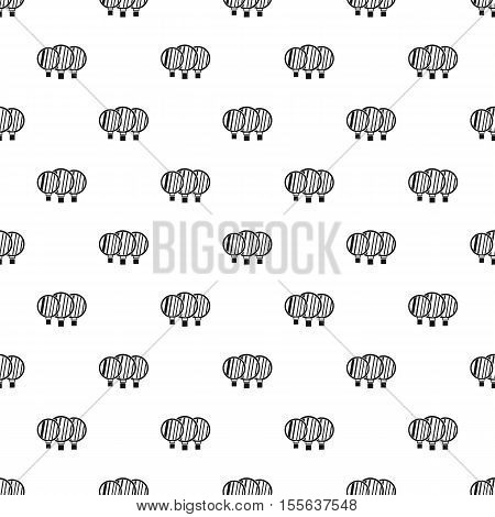 Magnified lenses pattern. Simple illustration of magnified lenses vector pattern for web