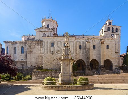 amazing cathedral basilica of the assumption of the virgin mary of santander