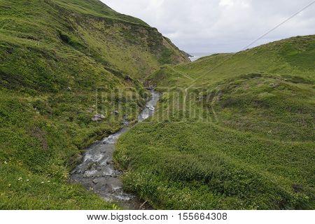 Marsland Water on the Devon - Cornwall border