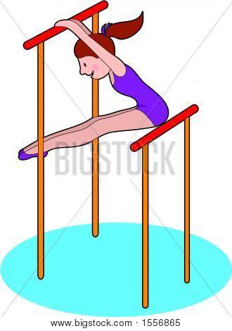 Gymnastics Bars.Ai