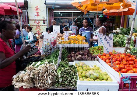 Vegetables And Fruit For Sale