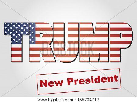 Donald Trump President Of Usa
