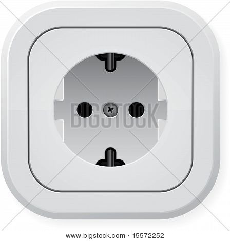 Electric wall outlet
