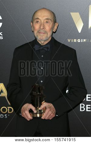 LOS ANGELES - NOV 6:  Albert Wolsky at the 20th Annual Hollywood Film Awards  at Beverly Hilton Hotel on November 6, 2016 in Beverly Hills, CA