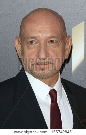 LOS ANGELES - NOV 6:  Sir Ben Kingsley at the 20th Annual Hollywood Film Awards  at Beverly Hilton Hotel on November 6, 2016 in Beverly Hills, CA