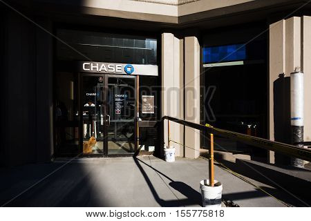 Chase Bank Branch In New York