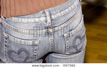 Bum In Jeans