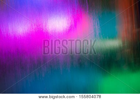 nice amazing beautiful abstract view of various colorful lights going through flowing water