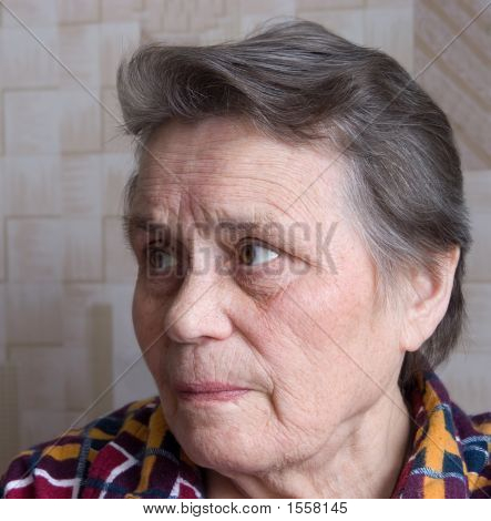 The Elderly Woman