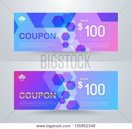 Gift Voucher Card Template Design. For Special Time, Best Of Customer, Thank Giving, And Other Sale.