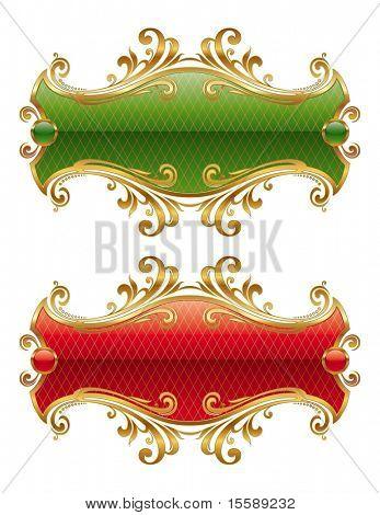 Luxus golden frame