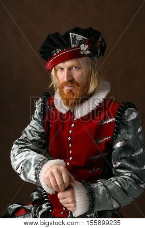 Portrait Of A Man Of The Middle Ages