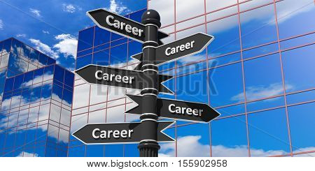 Career Indicators In Different Directions