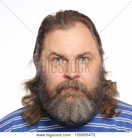 Portrait Of A Man With A Beard