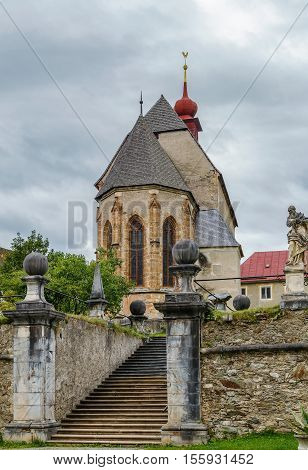 St. Lambrecht's Abbey is a Benedictine monastery in Styria Austria. St. Peter church