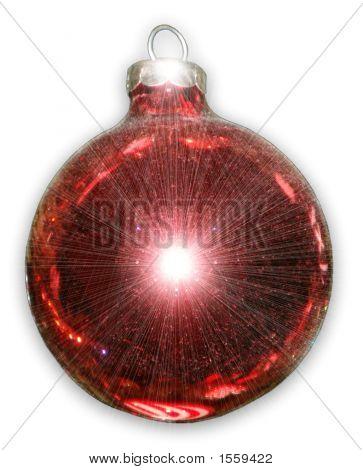 Shiny Red Christmas Ball
