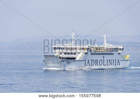 Ferry Boat Biokovo
