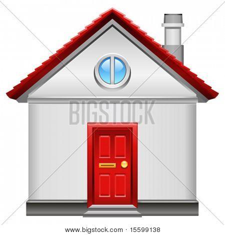 realistic vector home icon
