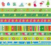 Christmas pattern set