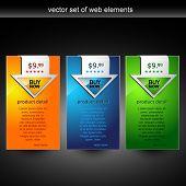 Постер, плакат: элемент отображения веб сайта с Купить сейчас кнопку