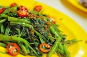 Chinese Style Spicy Vegetables poster