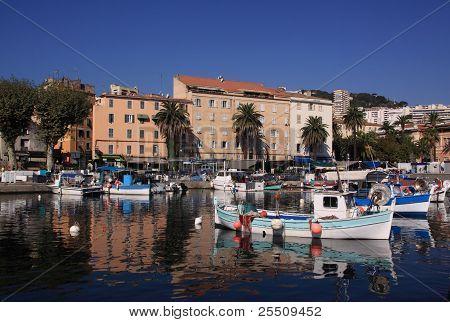 Corsica Ajaccio Old Harbour