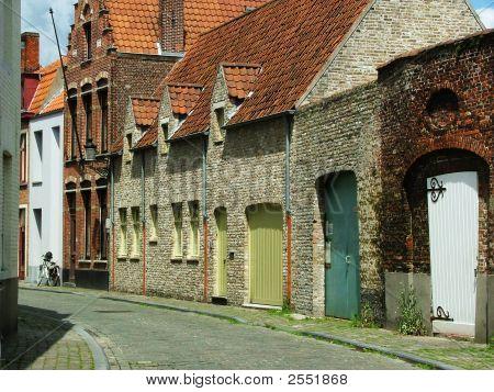 Street In Brugge