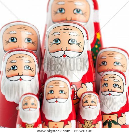 Santa Claus Family Portrait