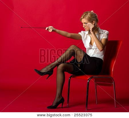 Sexy Woman Teacher