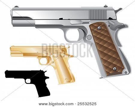 Colt 1911 de arma de fuego (pistola)