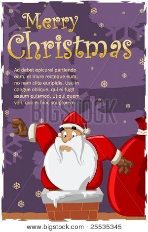 Santa-Claus on Christmas Time