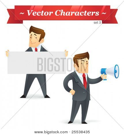Vector characters. Business Set 3.