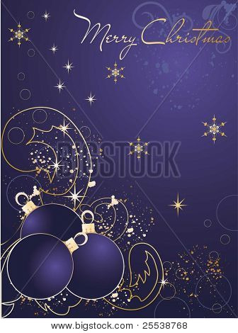 Christmas decorative abstract background