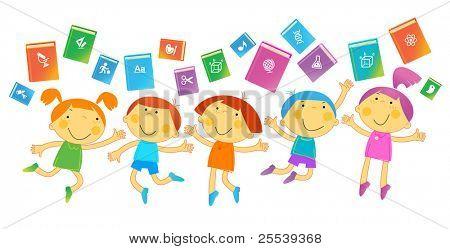BOOKS Children.THE SCHOOL OF SCIENCES