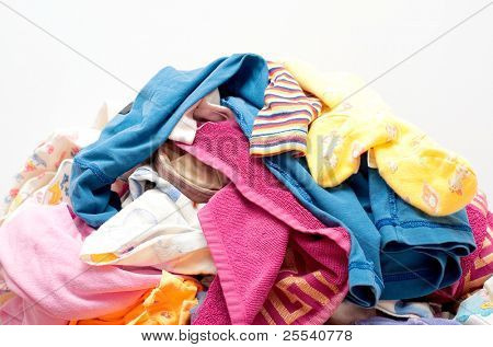 Heap Wash clothes